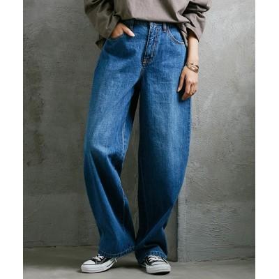 【選べる2素材】最旬!ゆったりワイドパンツ (レディースパンツ)Pants