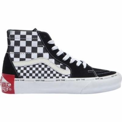 ヴァンズ Vans レディース スケートボード シューズ・靴 sk8-hi mixed check Black/White