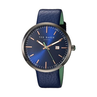 Ted Baker Men's Analog Japanese-Quartz Watch with Leather Strap 10031563 並行輸入品