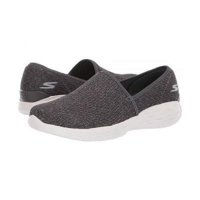 SKECHERS Performance スケッチャーズ レディース 女性用 シューズ 靴 スニーカー 運動靴 You - 15804 - Charcoal