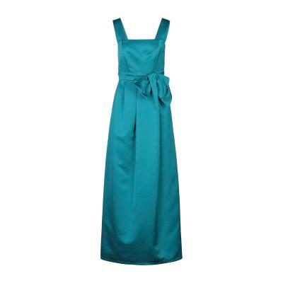パロッシュ P.A.R.O.S.H. ロングワンピース&ドレス エメラルドグリーン S ポリエステル 100% ロングワンピース&ドレス