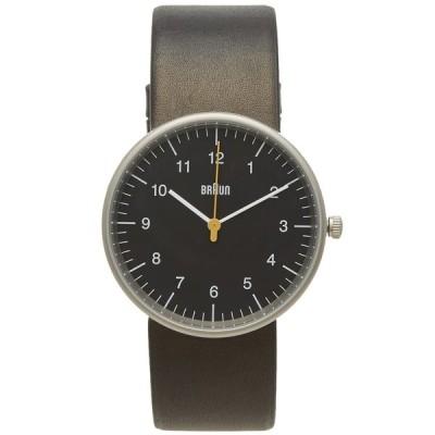 ブラウン Braun メンズ 腕時計 BN0021 Watch Black/Black