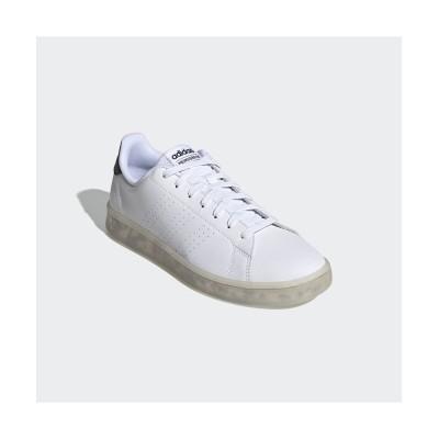 【アディダス】 アドバンテージ エコ / Advantage Eco メンズ ホワイト 27.5cm adidas