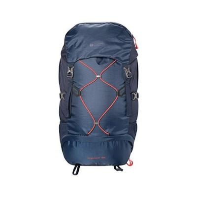 Mountain Warehouse Highland 40L Rucksack - Durable Summer Backpack Navy 並行輸入品