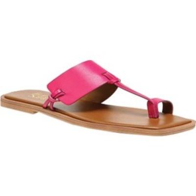フランコサルト レディース サンダル シューズ Milly Toe Loop Sandal Fuchsia Hispacho Leather