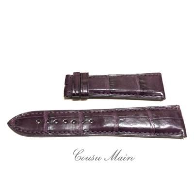 新作 CousuMain  22mm-18mm クロコダイル 両面 ワンタッチバネ棒仕様 (セイコー パテックフィリップ ロレックス オメガ オーデマピゲ ピアジェ)向 R630