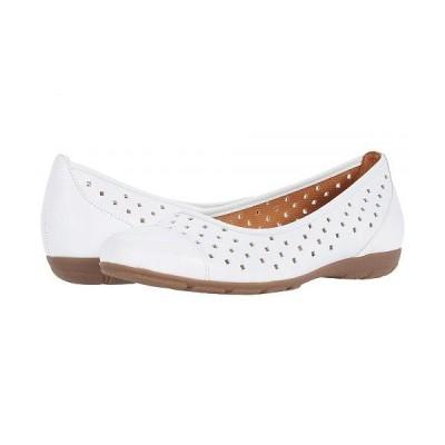 Gabor ガボール レディース 女性用 シューズ 靴 フラット Gabor 44.169 - Weiss