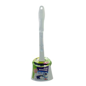 百利長效型菜瓜布馬桶刷底座組1柄1刷頭升級版