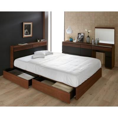 ベッド 寝具 布団 マットレス スプリングマットレス シングル・ポケットコイルマットレス付き(AlusStyle/アルススタイル ベッドシリーズ) H91016