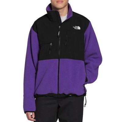 ノースフェイス メンズ ジャケット&ブルゾン アウター '95 Retro Color Block Denali Jacket Peak Purple