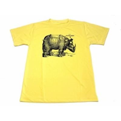 イエロー サイ デューラー ドライ Tシャツ 木版画 グッズ  黄色