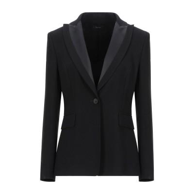 HANITA テーラードジャケット ブラック 42 ポリエステル 100% / ポリウレタン テーラードジャケット