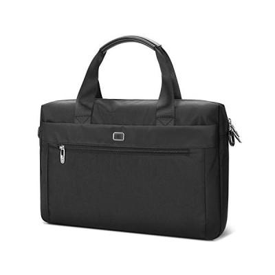XuYuanjiaShop Laptop Bag 14-Inch Laptop Case Bag Briefcase for Women and Men, Black, 1-Pack Tablet Laptop Sleeve 並行輸入品