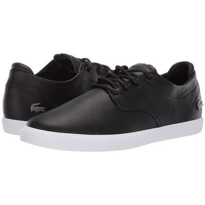 ラコステ Esparre BL 1 メンズ スニーカー 靴 シューズ Black/White