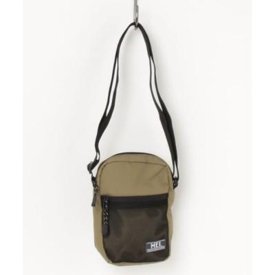 KAZZU / リサイクルナイロンショルダーバッグ MEN バッグ > ショルダーバッグ