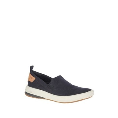 メレル メンズ スニーカー シューズ Gridway Canvas Slip-On Sneaker BLACK