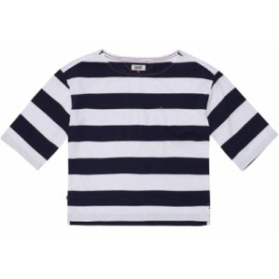 tommy-jeans トミー ジーンズ ファッション 女性用ウェア Tシャツ tommy-hilfiger bold-stripe