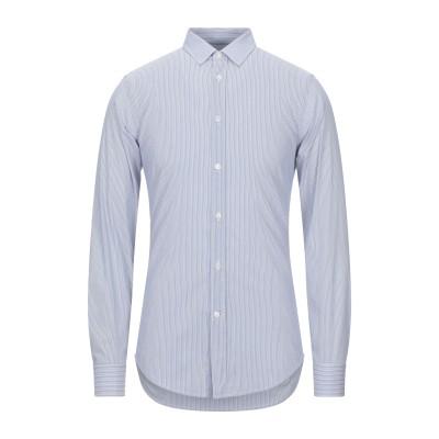 マウロ グリフォーニ MAURO GRIFONI シャツ ホワイト 40 コットン 72% / ナイロン 25% / ポリウレタン 3% シャツ