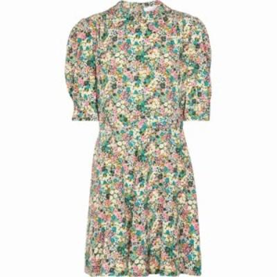 クロエ See By Chloe レディース ワンピース ワンピース・ドレス Floral silk shirt minidress Multicolor