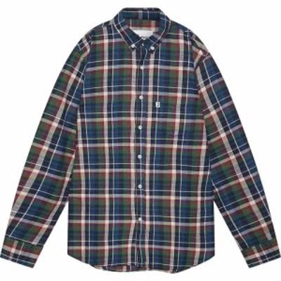 ペンフィールド Penfield メンズ シャツ トップス barrhead check shirt Navy