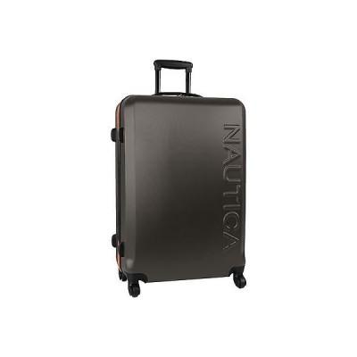 """ラゲッジ トランク スーツケース ノーティカ NAUTICA AHOY HARDSIDE スピナー グレー オレンジ 28"""" WheelED スーツケース"""