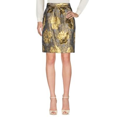 .AMEN. ひざ丈スカート グレー 40 コットン 36% / ポリエステル 34% / ナイロン 30% ひざ丈スカート