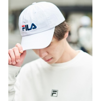MONO-MART / 【FILA】FLS 096 LINEAR LOGO LOW CAP MEN 帽子 > キャップ