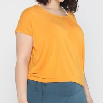 レディース Tシャツ WIDE - Basic T-shirt - aprikose
