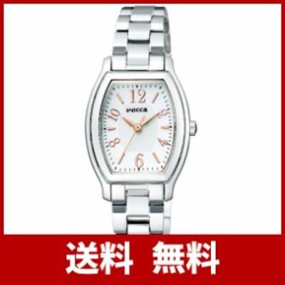 [シチズン]CITIZEN 腕時計 wicca ウィッカ ソーラーテック シンプルアジャスト KH8-713-11 レディース