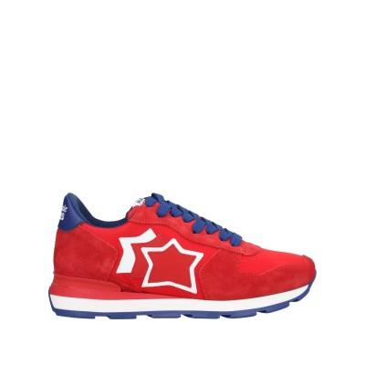 アトランティック スターズ ATLANTIC STARS スニーカー&テニスシューズ(ローカット) レッド 40 革 / 紡績繊維 スニーカー&テニ