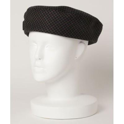 ZOZOUSED / チェック柄ベレー帽 WOMEN 帽子 > ハンチング/ベレー帽