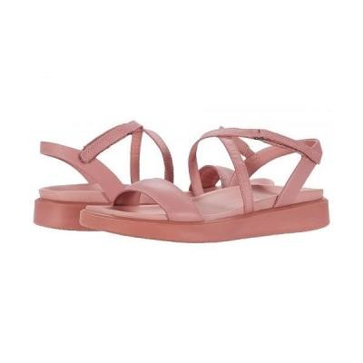 ECCO エコー レディース 女性用 シューズ 靴 サンダル Flowt LX Strap Sandal - Damask Rose Cow Leather