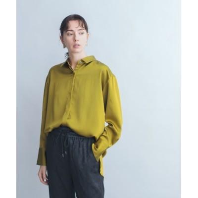 JEANASIS / 【eL】MatSatin Shirt/892681 WOMEN トップス > シャツ/ブラウス