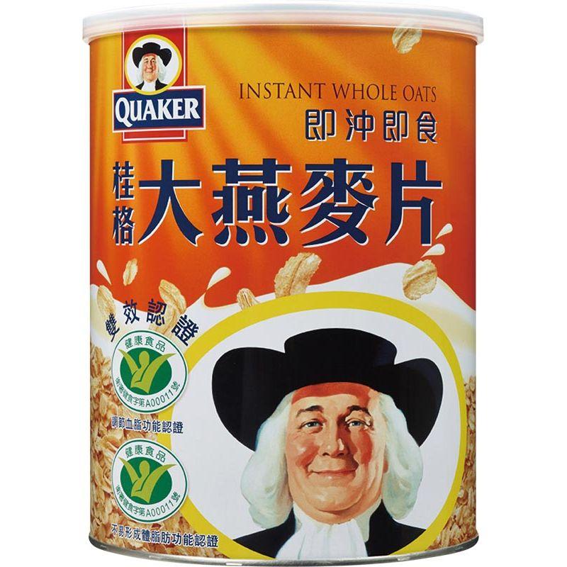 桂格即沖即食大燕麥片1100g