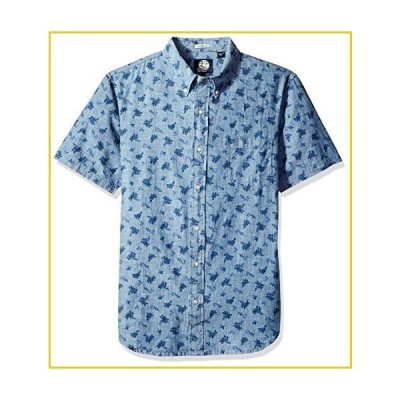 Reyn Spooner Men's Tailored Fit Hawaiian Shirt, Floral - Chambray, XS並行輸入品