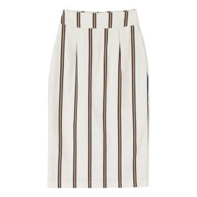 ティティベイト(titivate)/レジメンタルストライプタイトスカート