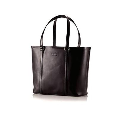 Hartmann Heritage Zippered Tote Bag, Leather Handbag in Heritage Black【並行輸入品】