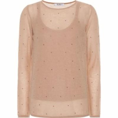 マックスマーラ Max Mara レディース ニット・セーター トップス Strillo embellished sweater conchiglia unito