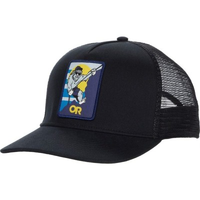 アウトドアリサーチ Outdoor Research レディース キャップ 帽子 Squatchin' Trucker Cap Black
