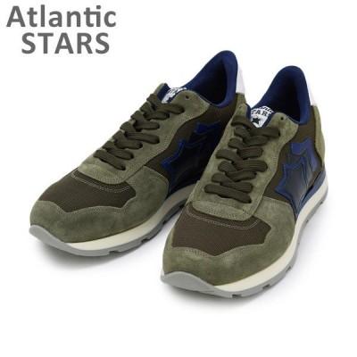 アトランティックスターズ スニーカー ANTARES アンタレス MAB-09NY MILITARE 644 Atlantic STARS メンズ シューズ 靴
