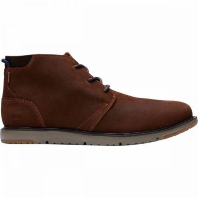 トムス Toms メンズ ブーツ シューズ・靴 Navi Boot Brown Distressed Leather