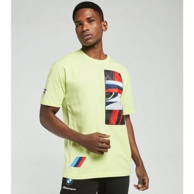プーマ Puma メンズ Tシャツ トップス BMW M Motorsport Street Tee Soft Fluorescent Yellow