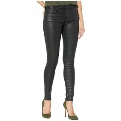 エージー アドリアーノゴールドシュミット レディース デニムパンツ ボトムス The Leggings Ankle Leatherette Light Super Black