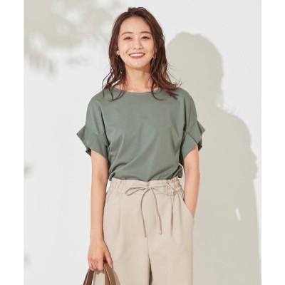 any SiS 【UVケア】ヒーリングカラー タックスリーブ Tシャツ (ディープミント)