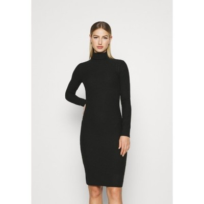 ジン ワンピース レディース トップス Shift dress - black