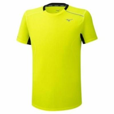 ドライエアロフローTシャツ(メンズ) MIZUNO ミズノ ランニング ウエア ランニングシャツ (J2MA0522)
