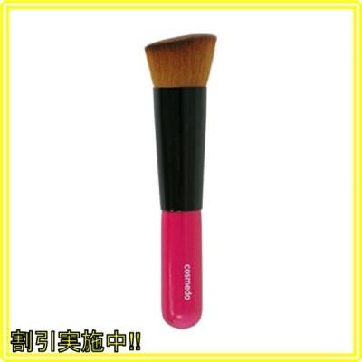 熊野筆 匠の化粧筆 コスメ堂 斜め フラット ファンデーションブラシ PBT 日本製 ( メイクブラシ フェイスブラ