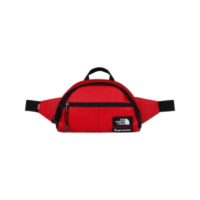 17AW Supreme/North Face Leather Roo II Lumbar Pack Red Waist Bag シュプリーム ノースフェイス レザー ウエストバッグ レッド 赤 )