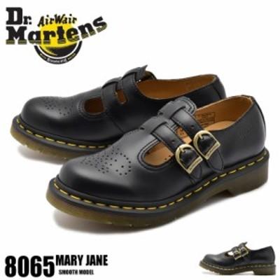 秋新作 ドクターマーチン カジュアルシューズ レディース メリージェーン シューズ 靴 黒 8065 MARY JANE R12916001 8065