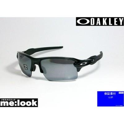 OAKLEY オークリー OO9188-0859 偏光サングラス FLAK 2.0 XL フラック2.0 XL ポリッシュドブラック /ブラックイリジウム ポラライズド 度付対応可